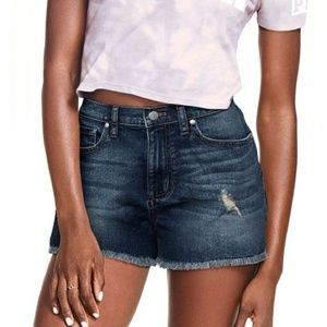 EUC Victoria's Secret PINK Denim cut-off shorts